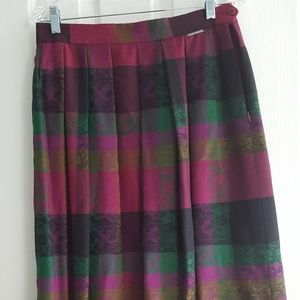 Geiger womens wool skirt